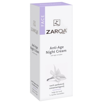 ZARQA FACE ANTI AGE NIGHT CR   50G