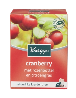 KNEIPP THEE CRANBERRY   15Z