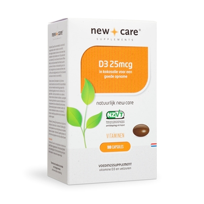 NEW CARE VITAMINE D3 25MCG    100 ST
