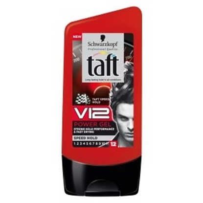 TAFT V12 POWER GEL TUBE       150 ML