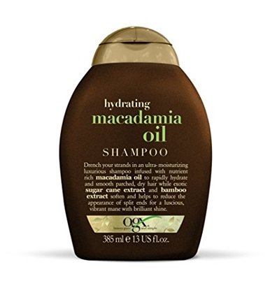 OGX HYDRATING MACADAMIA OIL SHAMPOO 385 ML