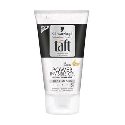 TAFT POWER GEL INVISIBLE      150 ML