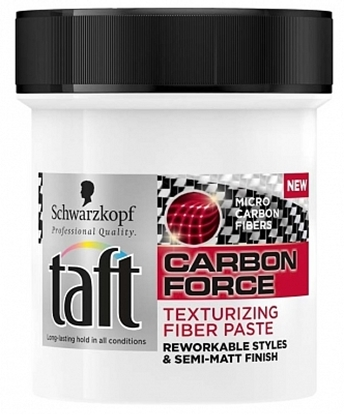 TAFT FIBRE PASTE CARBON FORCE 130 ML