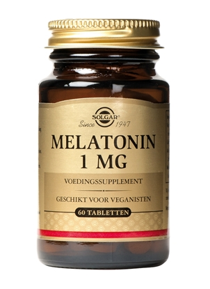 SOLGAR MELATONIN 1 MG 60 TABL