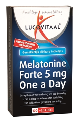 LUCOVITAAL MELATONINE 5MG 120 ST