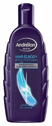 ANDRELON SHAMP HAIR BODY FM  300M