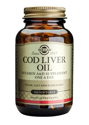 SOLGAR COD LIVER OIL LEVERTR 100ML