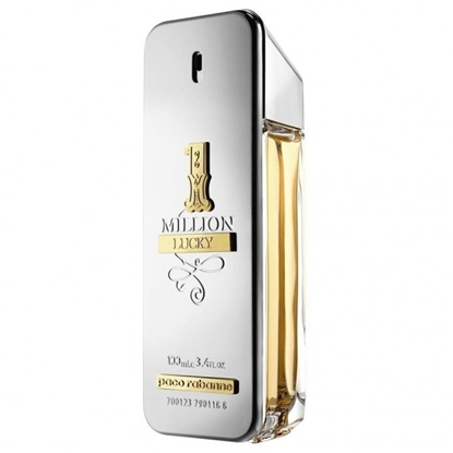 PACO RABANNE 1 MILLION LUCKY EDT 100 ML SILVER