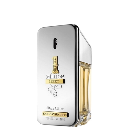 PACO RABANNE 1 MILLION LUCKY EDT 50 ML SILVER