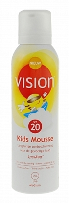 VISION KIDS MOUSSE SPF20  150ML