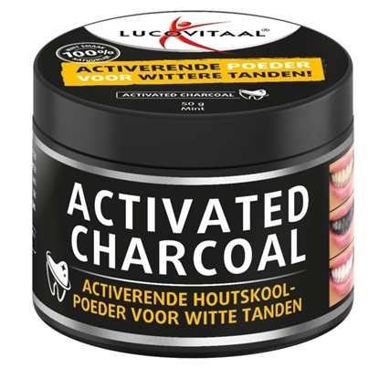 LUCOVITAAL ACTIVATED CHARCOAL 50G