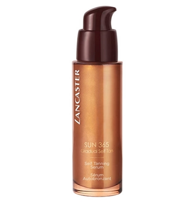 LANCASTER 365 SUN SELF TAN SERUM WITH GOLDEN BEADS FACE 30 M