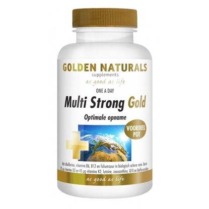 GOLDEN NATURALS MULTI STRONG GOLD 90 TABL