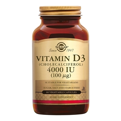 SOLGAR VITAMIN D3 4000 IU 100 MG 60 CAPS