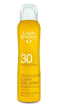LOUIS WIDMER CLEAR SUN SPRAY SPF 30 GEPARFUMEERD 125 ML