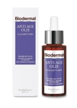 BIODERMAL GEZICHTSOLIE ANTI AGE 30 ML