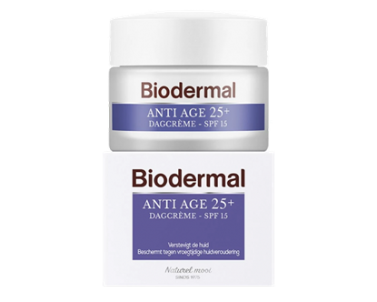 BIODERMAL DAGCREME ANTI AGE 25 50 ML