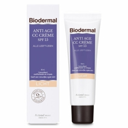 BIODERMAL CC CREME LIGHT ANTI AGE 50 ML