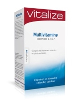 VITALIZE MULTIVITAMINE COMPLEET A TM Z 60 TABL