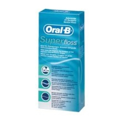 ORAL B FLOSS MINT 50 ST