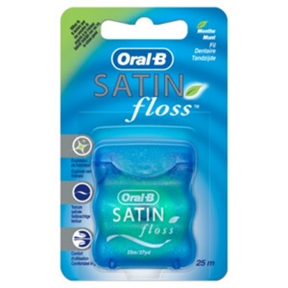 ORAL B FLOSS SATIN MINT 25 M